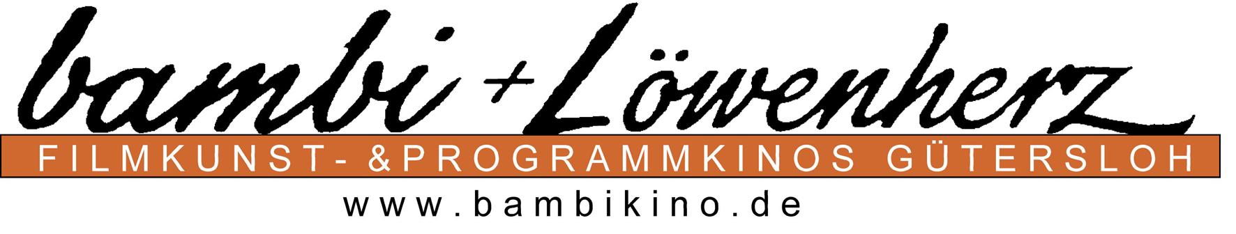 Logo: bambi + Löwenherz | Filmkunst- und Programmkinos